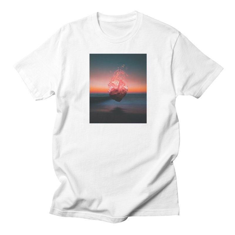 Fabian's Heart Men's Regular T-Shirt by Lumi