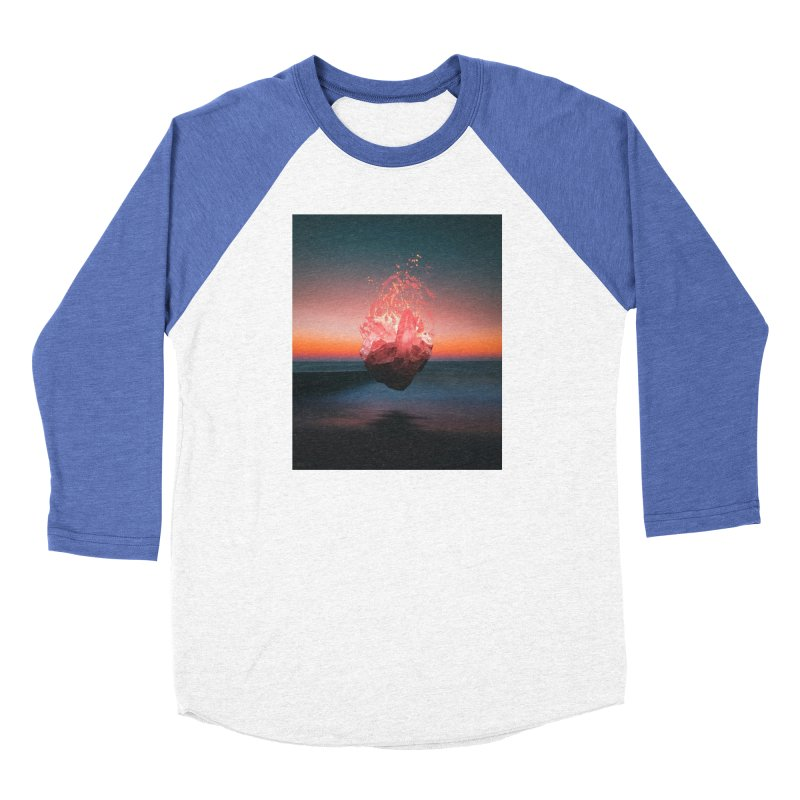 Fabian's Heart Men's Baseball Triblend Longsleeve T-Shirt by Lumi