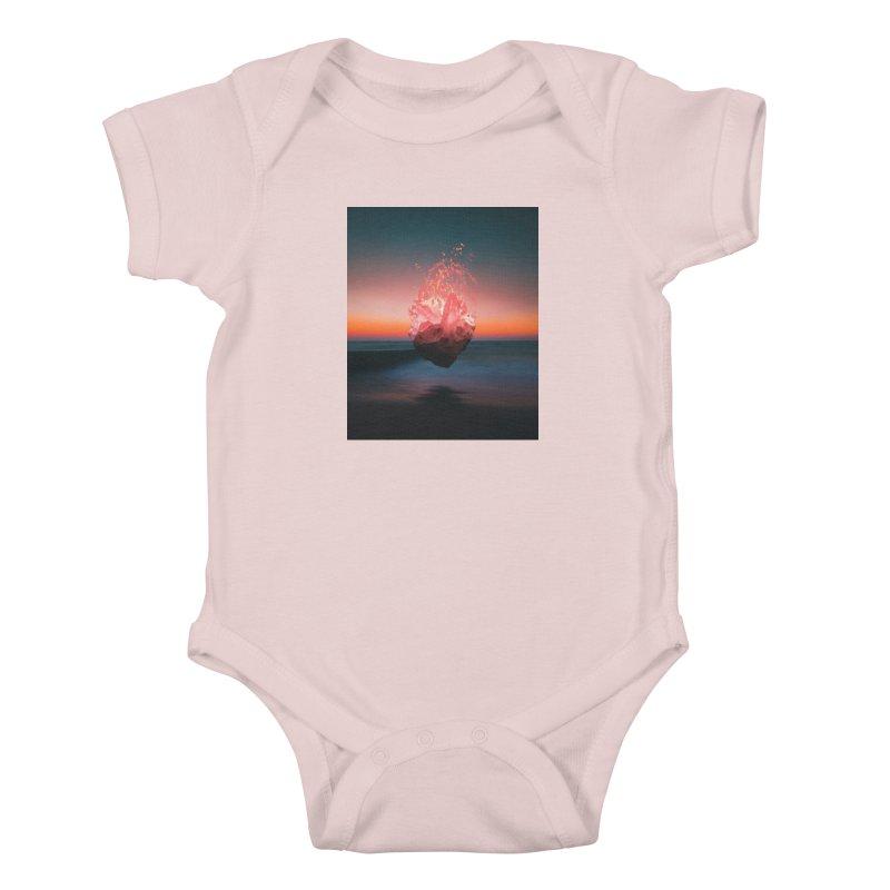 Fabian's Heart Kids Baby Bodysuit by Lumi