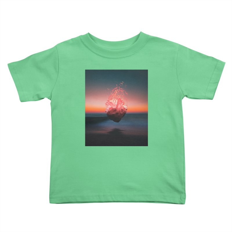 Fabian's Heart Kids Toddler T-Shirt by Lumi