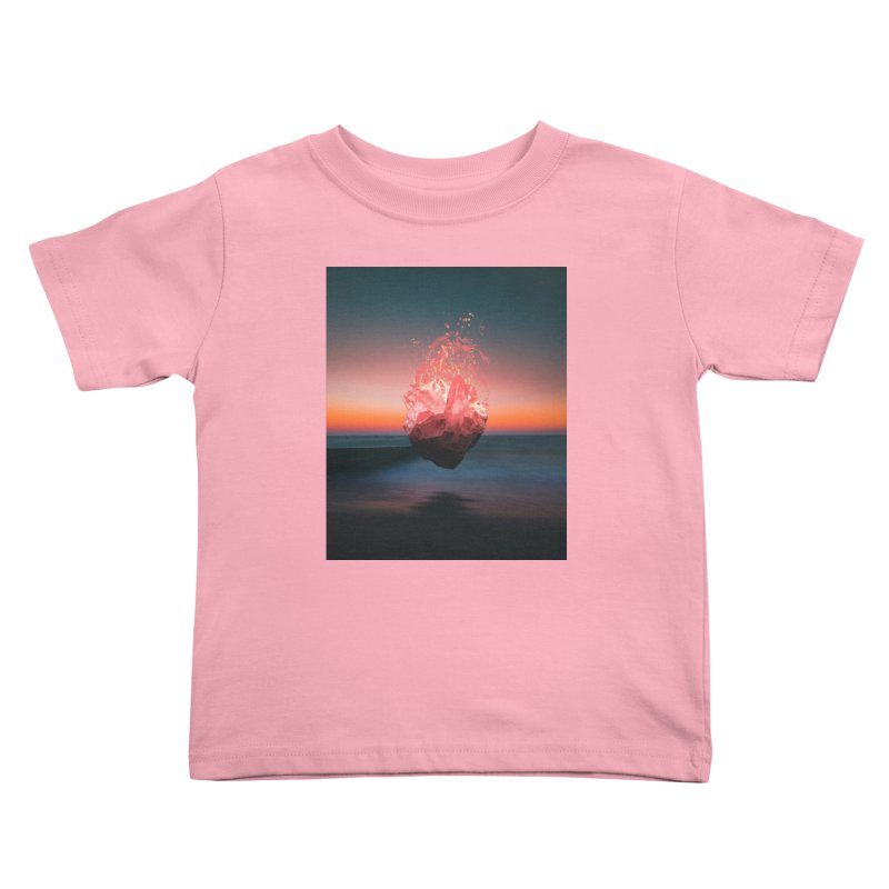 Fabian's Heart Kids Toddler T-Shirt by Lumi