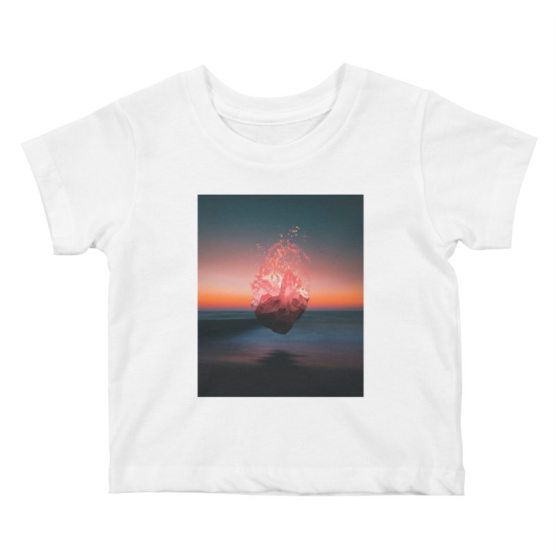 Fabian's Heart Kids Baby T-Shirt by Lumi