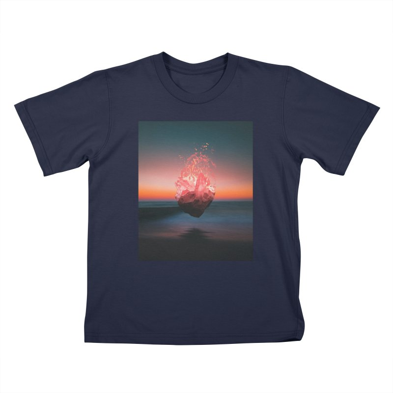 Fabian's Heart Kids T-Shirt by Lumi