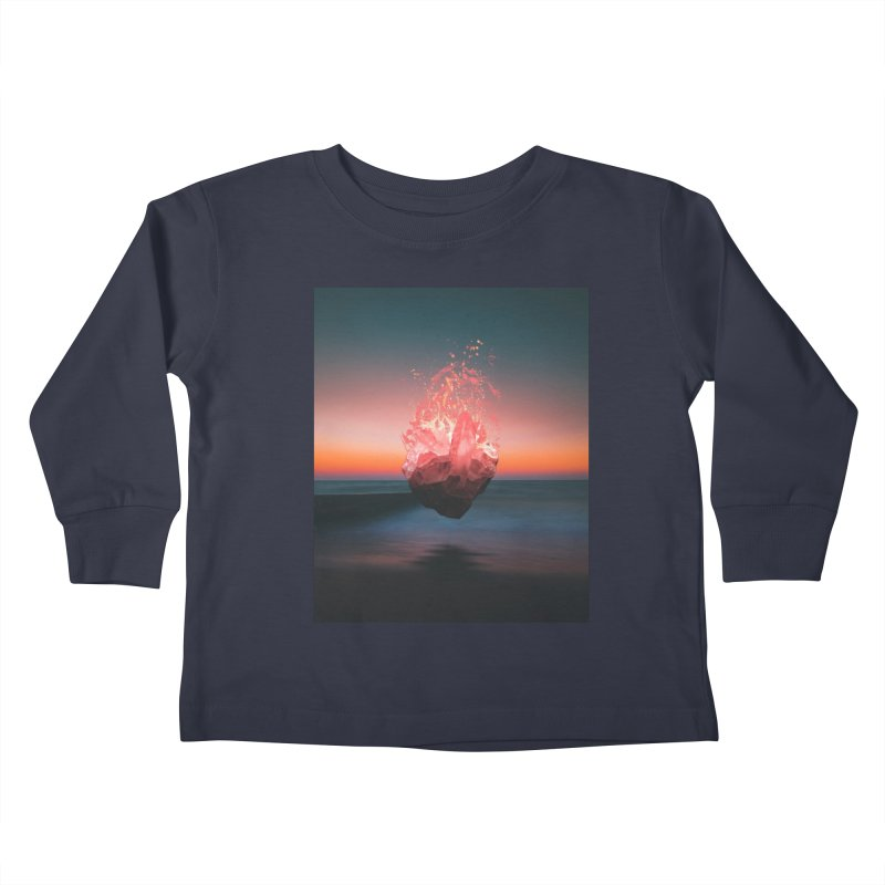 Fabian's Heart Kids Toddler Longsleeve T-Shirt by Lumi