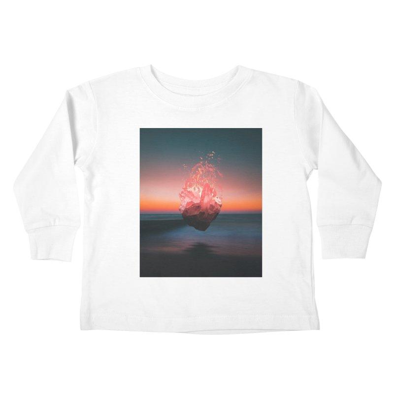 Fabian's Heart Kids Toddler Longsleeve T-Shirt by Lumi