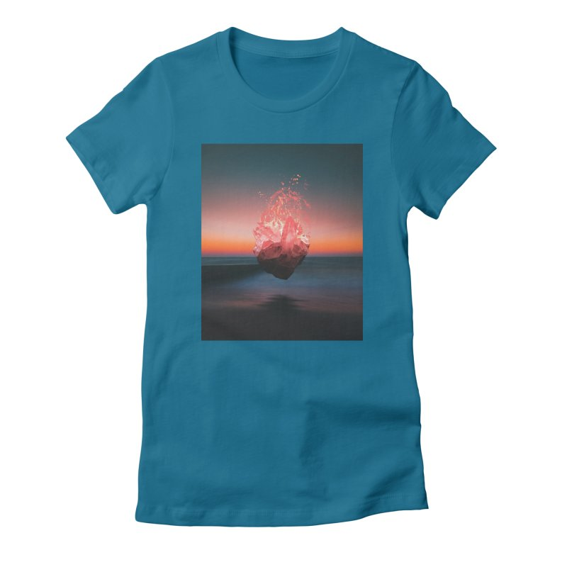 Fabian's Heart Women's Fitted T-Shirt by Lumi