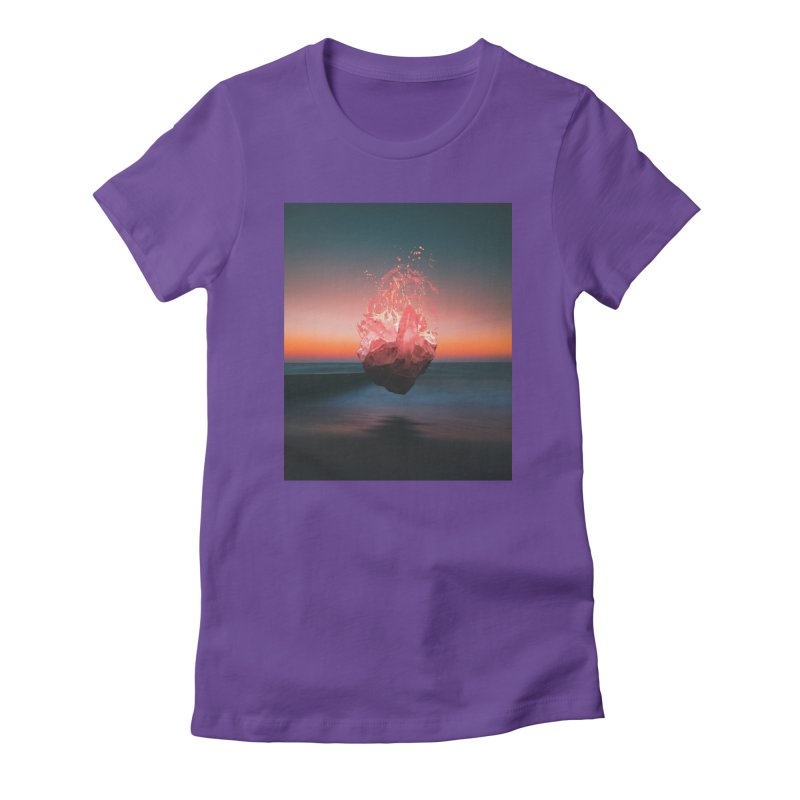 Fabian's Heart Women's Fitted T-Shirt by Lumi