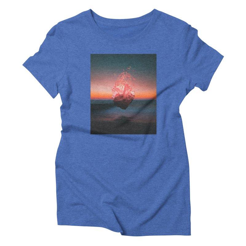 Fabian's Heart Women's Triblend T-Shirt by Lumi