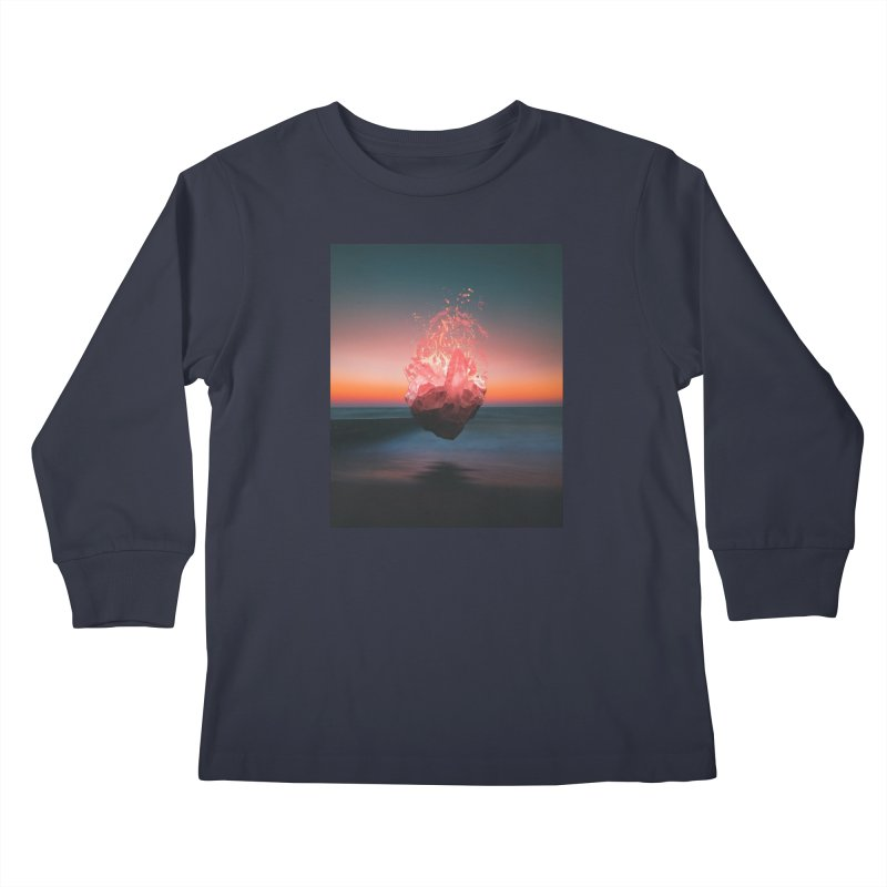Fabian's Heart Kids Longsleeve T-Shirt by Lumi