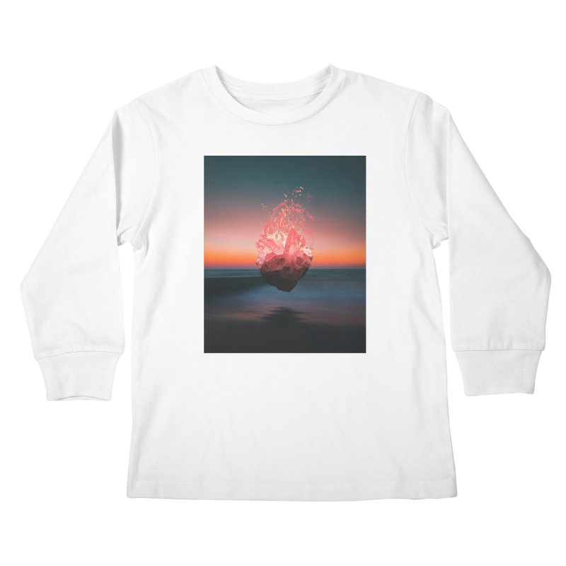 Fabian's Heart Kids Longsleeve T-Shirt by Lumi