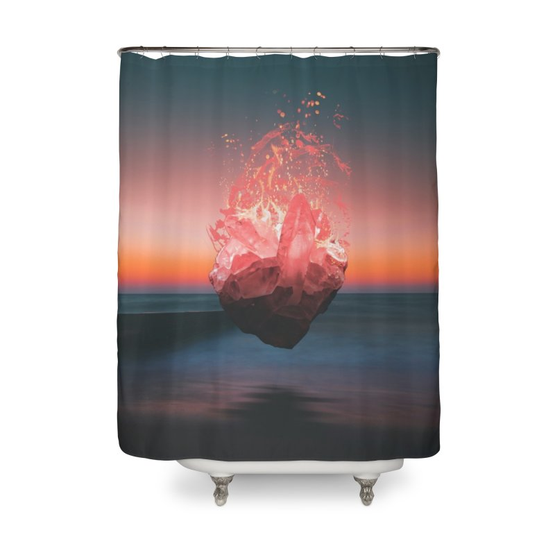 Fabian's Heart Home Shower Curtain by Lumi