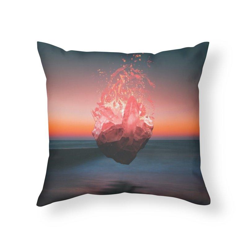 Fabian's Heart Home Throw Pillow by Lumi