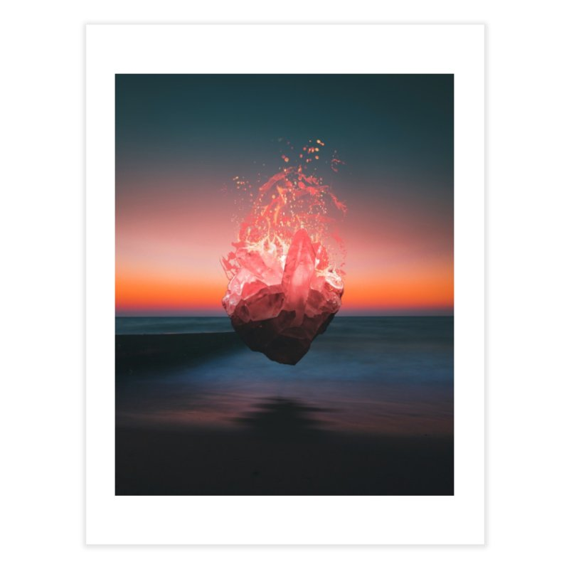 Fabian's Heart Home Fine Art Print by Lumi