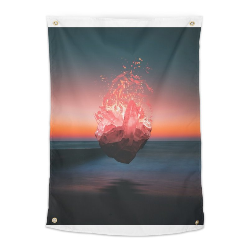 Fabian's Heart Home Tapestry by Lumi