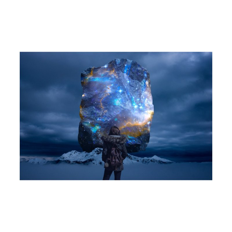 Cosmic Portal Home Stretched Canvas by Lumi