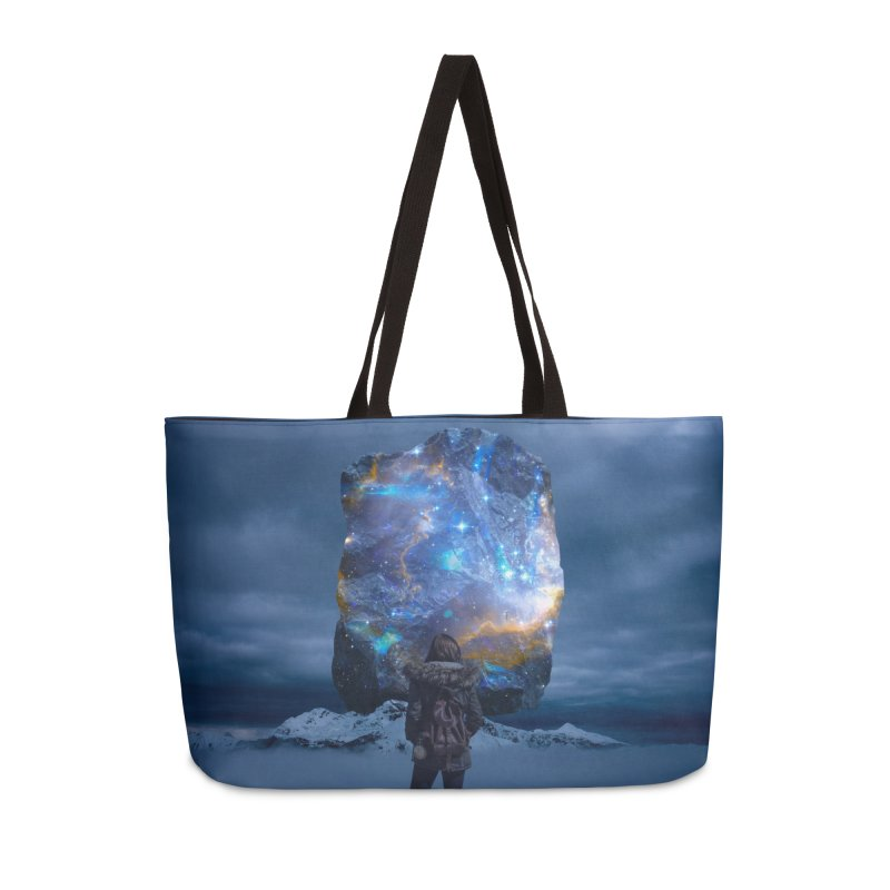 Cosmic Portal Accessories Weekender Bag Bag by Lumi