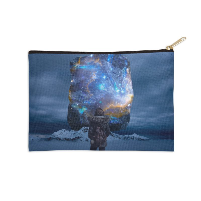 Cosmic Portal Accessories Zip Pouch by Lumi