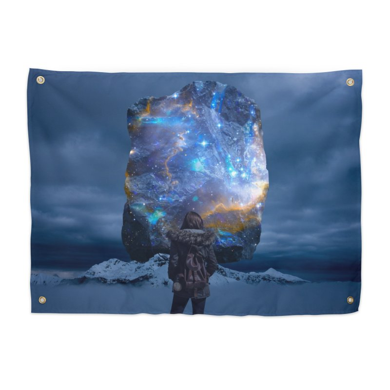 Cosmic Portal Home Tapestry by Lumi