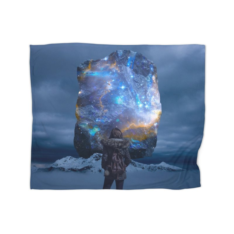 Cosmic Portal Home Blanket by Lumi