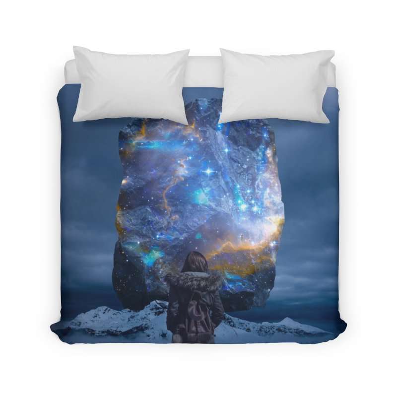 Cosmic Portal Home Duvet by Lumi