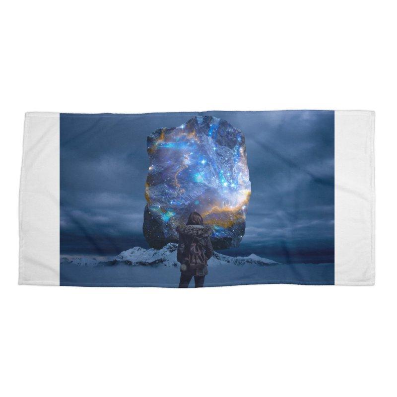 Cosmic Portal Accessories Beach Towel by Lumi