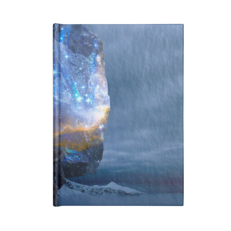 Cosmic Portal Accessories Blank Journal Notebook by Lumi