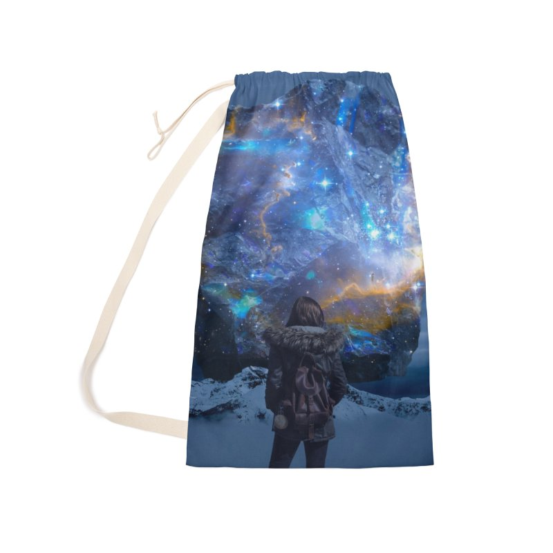 Cosmic Portal Accessories Laundry Bag Bag by Lumi