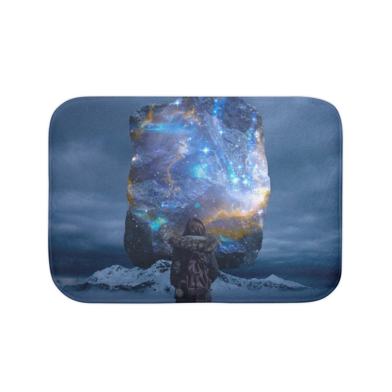 Cosmic Portal Home Bath Mat by Lumi