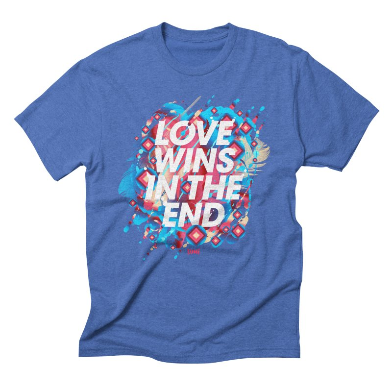 Love Wins In The End Men's Triblend T-Shirt by Lumi