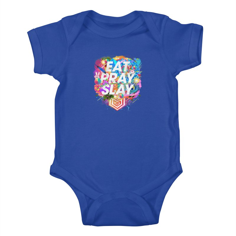 Eat Pray Slay Kids Baby Bodysuit by Lumi