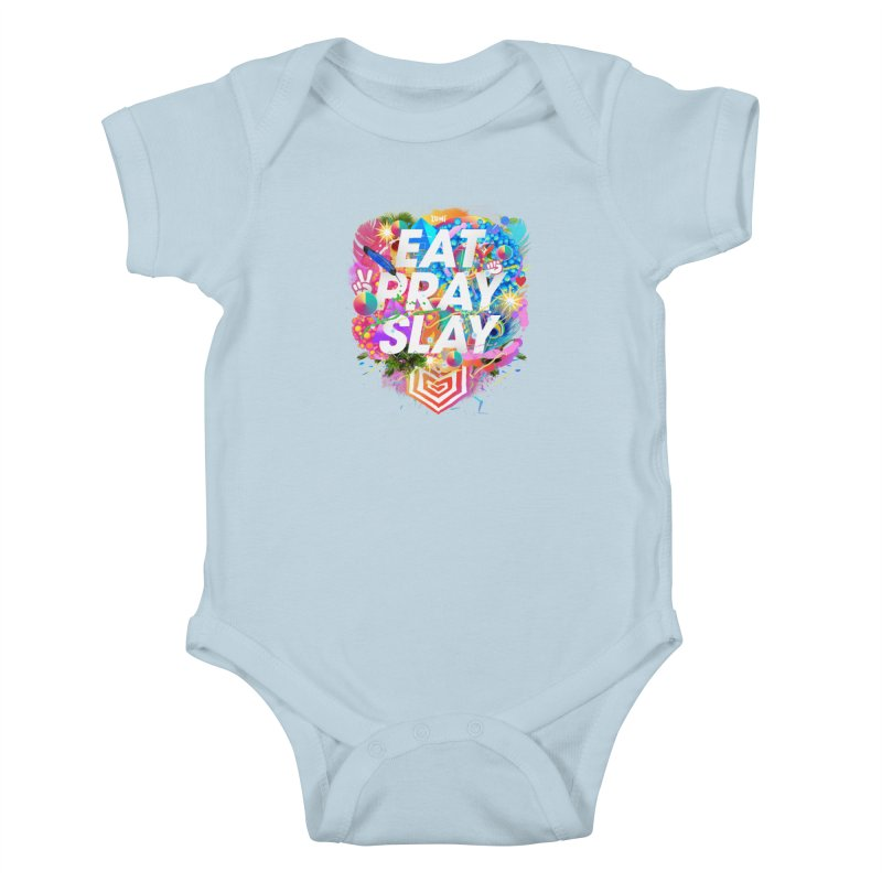 Eat Pray Slay Kids Baby Bodysuit by Lumi