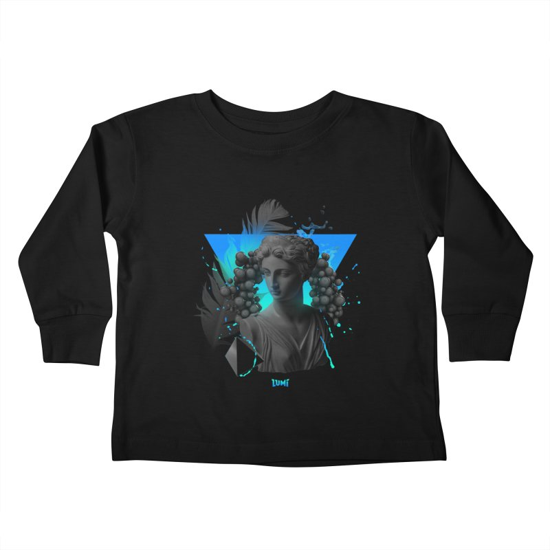 Perfect Mess Kids Toddler Longsleeve T-Shirt by Lumi
