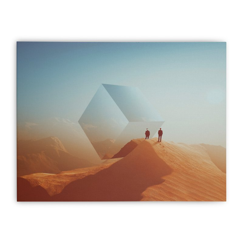 Requited Silence Home Stretched Canvas by Lumi