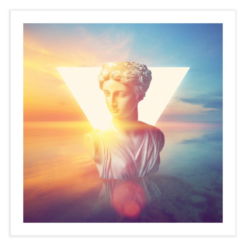 Vaporwave Home Fine Art Print by Lumi