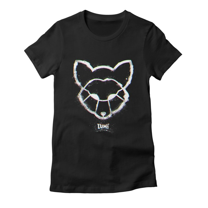 Rei The Fox Women's Fitted T-Shirt by Lumi