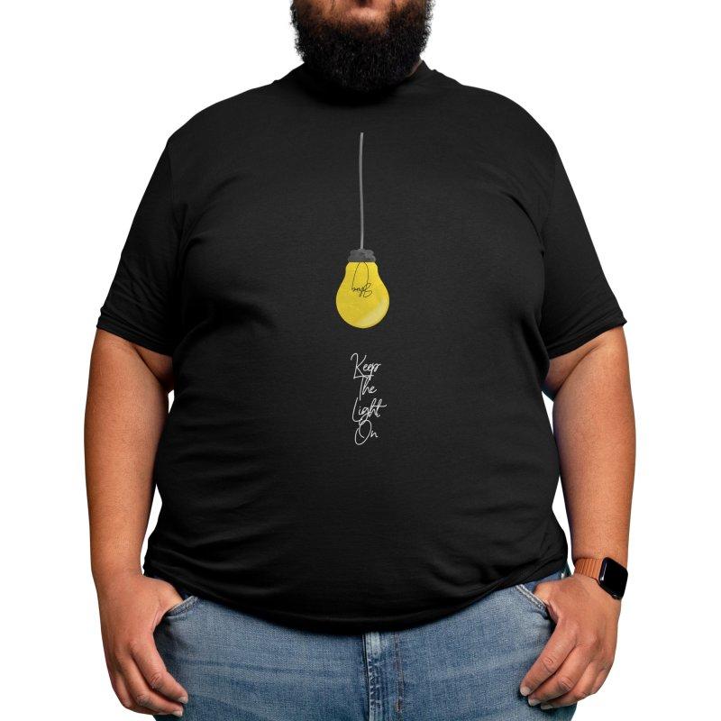 Keep The Light On (Shine) Men's T-Shirt by Lumos19 Studio