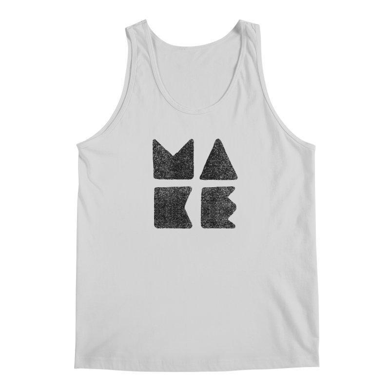 MAKE Men's Regular Tank by lunchboxbrain's Artist Shop