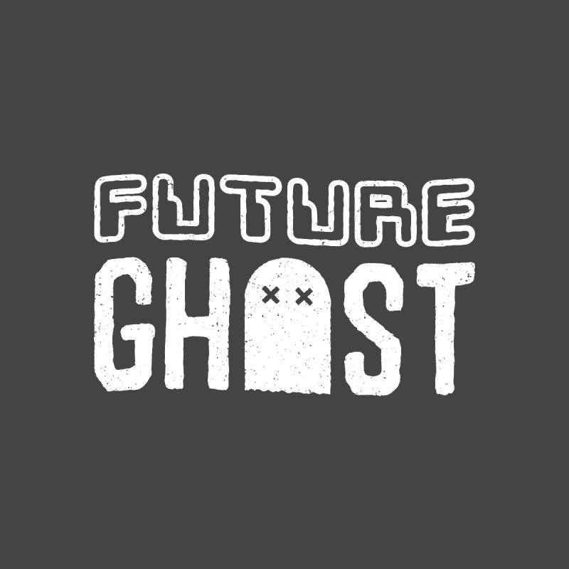 Future Ghost Home Stretched Canvas by lunchboxbrain's Artist Shop