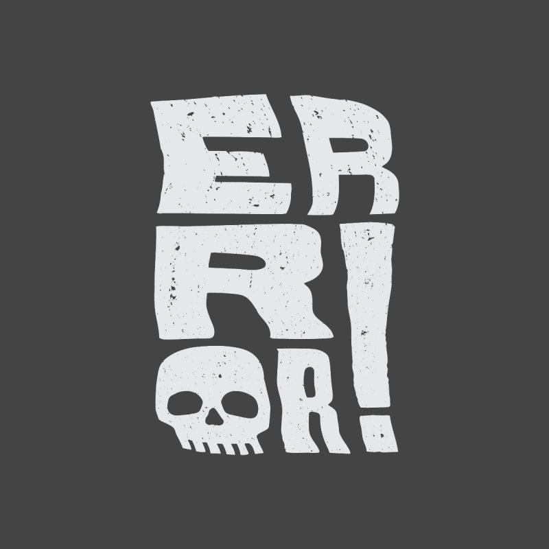 Error! Kids Longsleeve T-Shirt by lunchboxbrain's Artist Shop