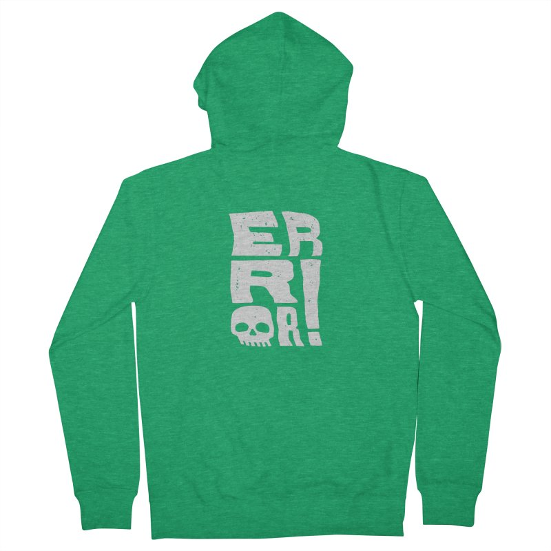 Error! Women's Zip-Up Hoody by lunchboxbrain's Artist Shop