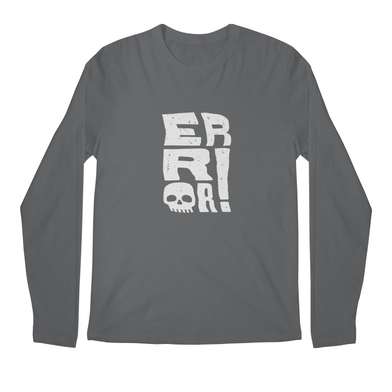 Error! Men's Regular Longsleeve T-Shirt by lunchboxbrain's Artist Shop