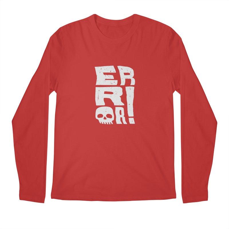 Error! Men's Longsleeve T-Shirt by lunchboxbrain's Artist Shop