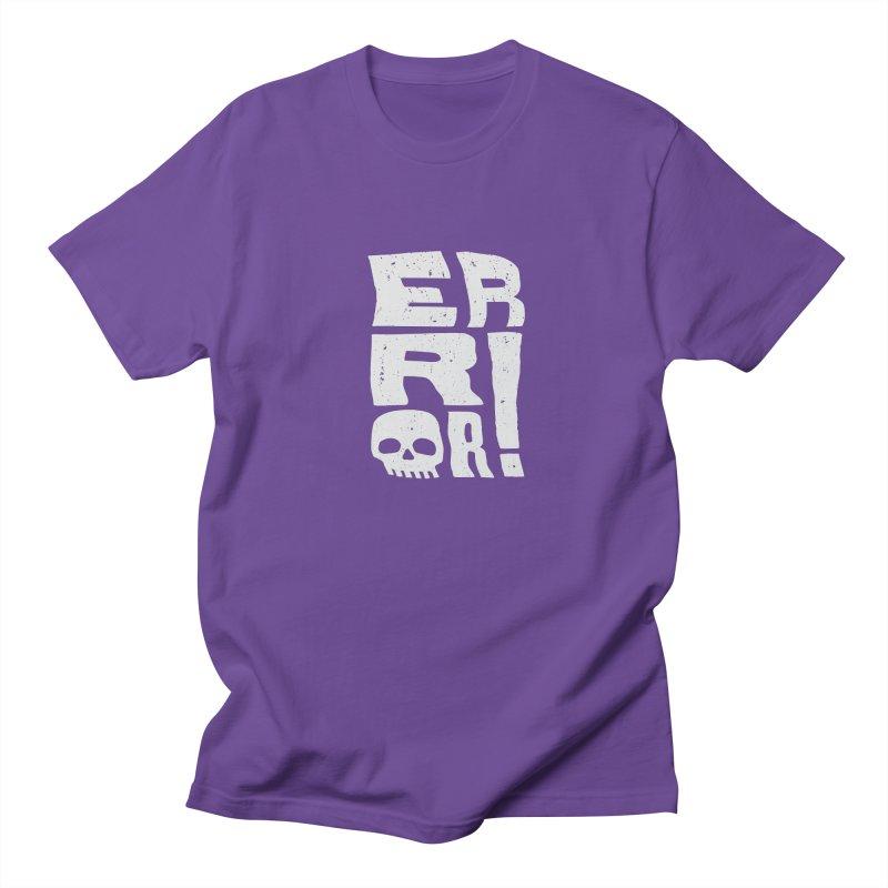 Error! Men's Regular T-Shirt by lunchboxbrain's Artist Shop