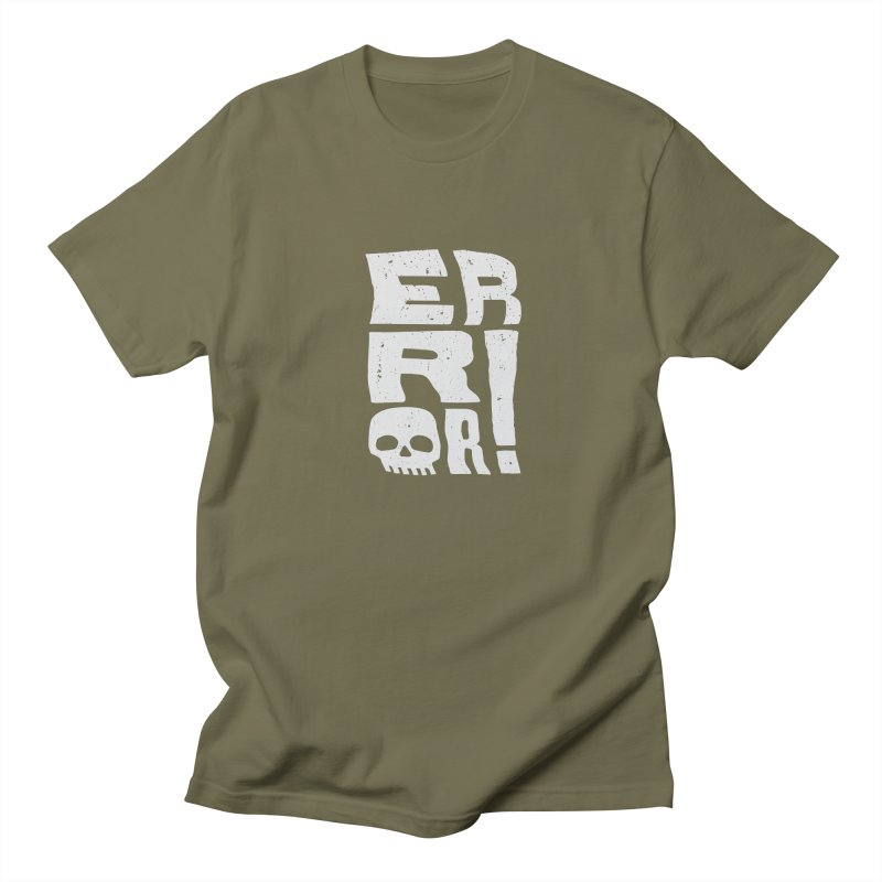 Error! Women's Regular Unisex T-Shirt by lunchboxbrain's Artist Shop