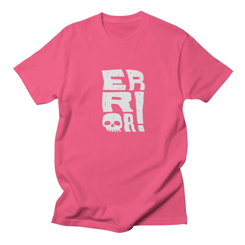 Error! Men's T-Shirt by lunchboxbrain's Artist Shop