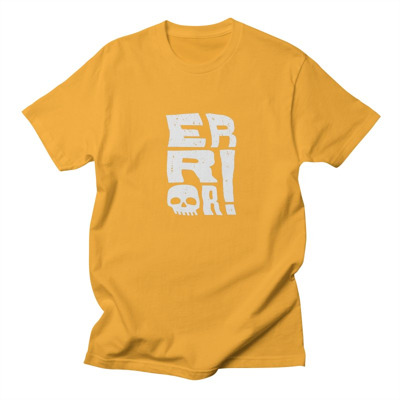 Error! Men's Regular T-Shirt by lunchboxbrain's Artist Shop