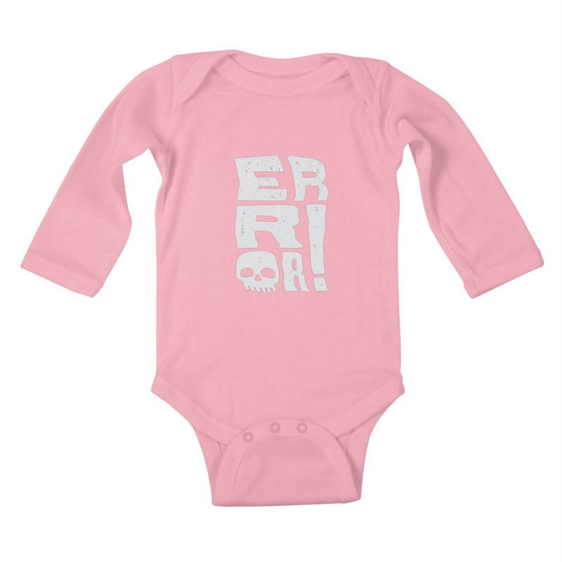 Error! Kids Baby Longsleeve Bodysuit by lunchboxbrain's Artist Shop