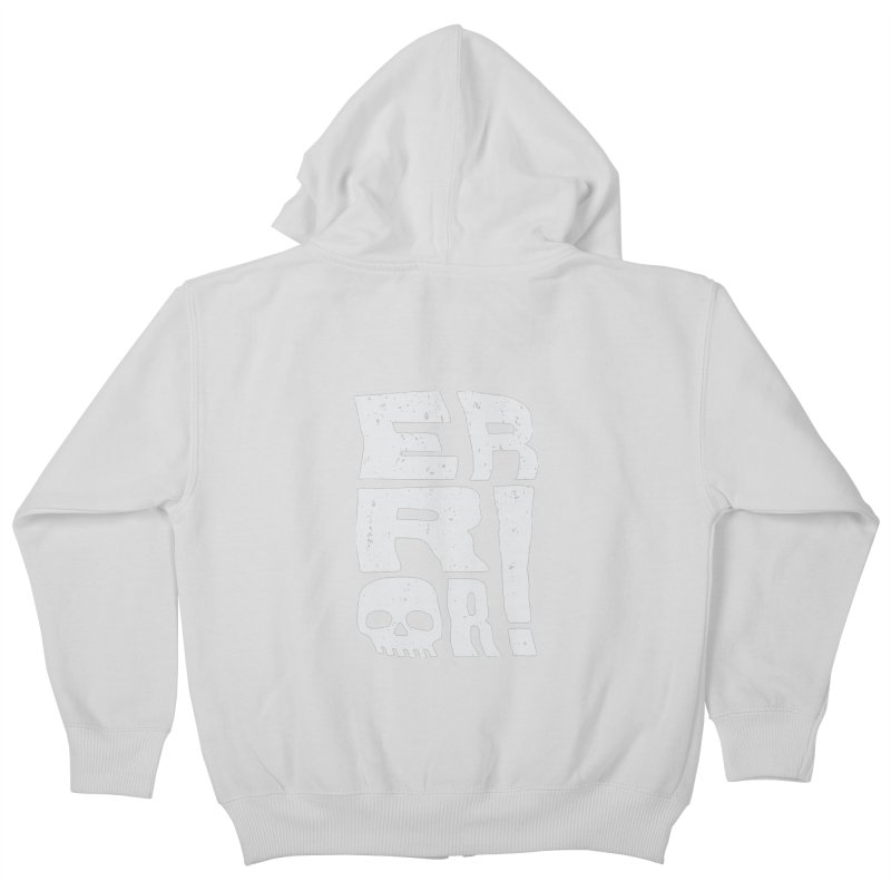 Error! Kids Zip-Up Hoody by lunchboxbrain's Artist Shop