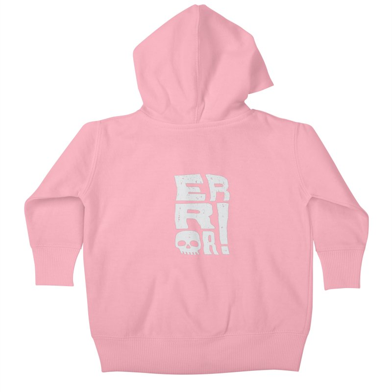 Error! Kids Baby Zip-Up Hoody by lunchboxbrain's Artist Shop