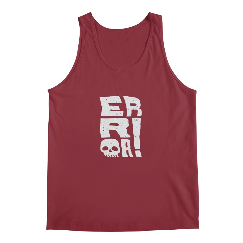 Error! Men's Regular Tank by lunchboxbrain's Artist Shop